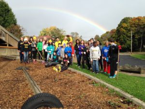 Coventry Peace Park Cleanup Oct 2014
