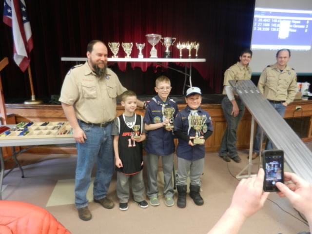 Bear Den Winners