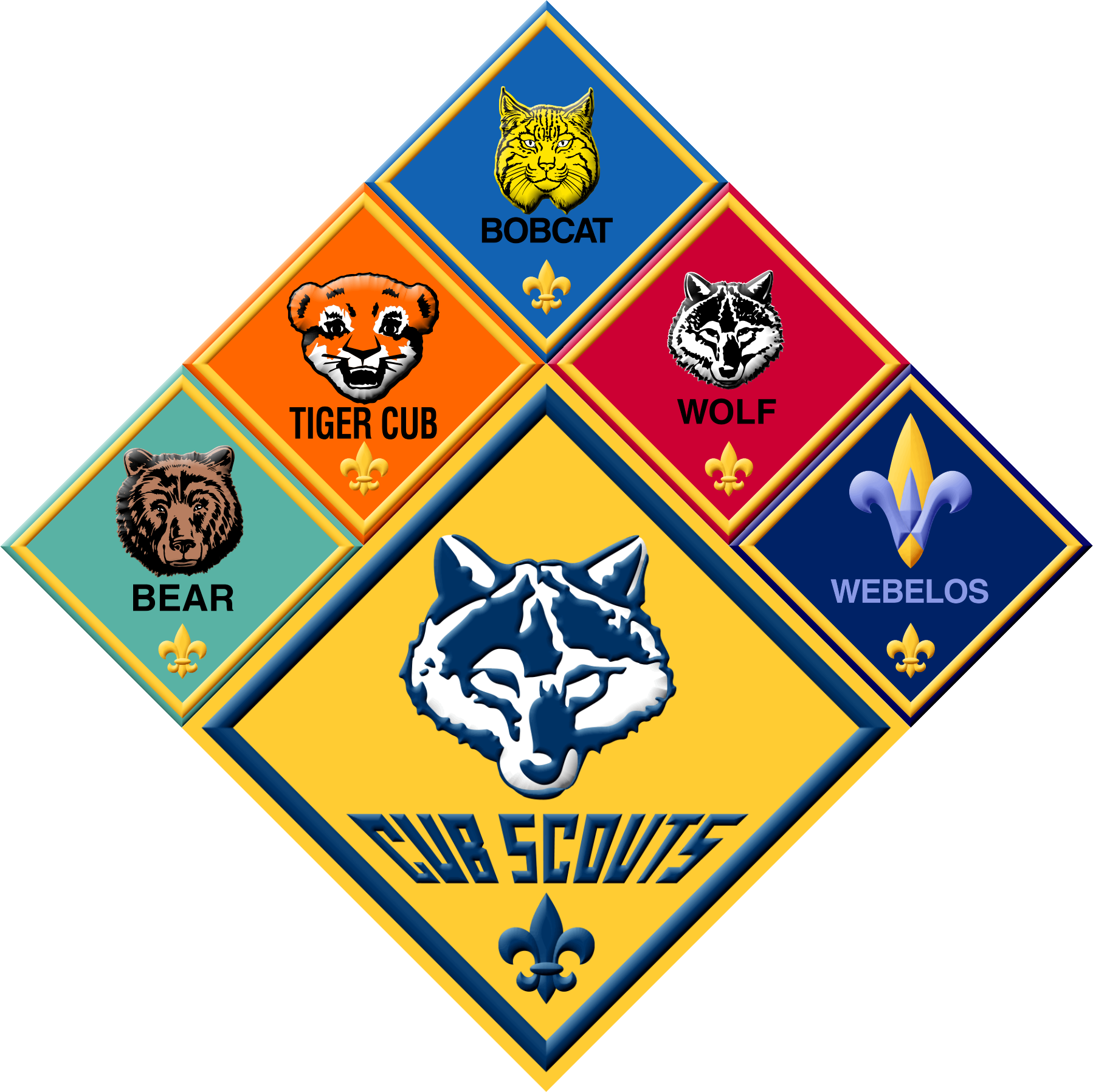 Tiger, Wolf, Bear and Webelos I&II Den Meetings @ Church of the Savior (Tigers Room 228, Wolves Room 225, Bears Room 212; Webelos I&II Calvary Hall Stage) | Cleveland Heights | Ohio | United States